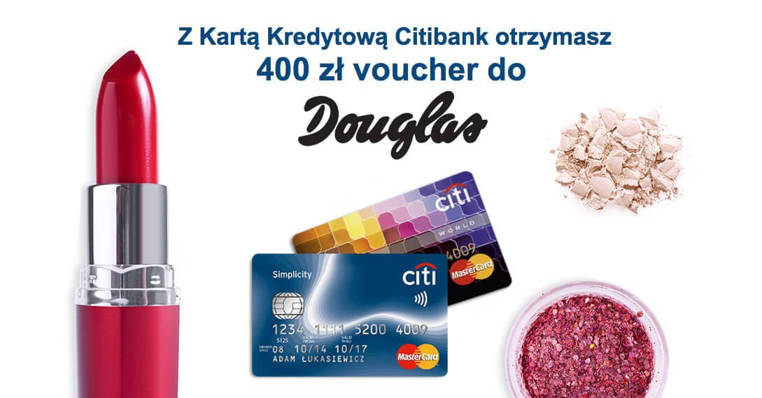 Odbierz 400 zł na zakupy w Douglas