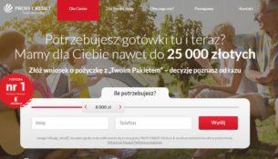 Profi Credit - szybka pożyczka