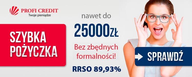 pożyczka do 25 tys. złotych